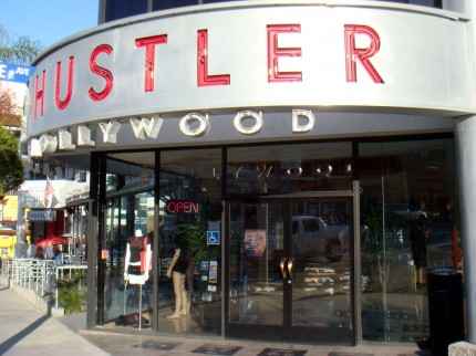 The hustler store hollywood